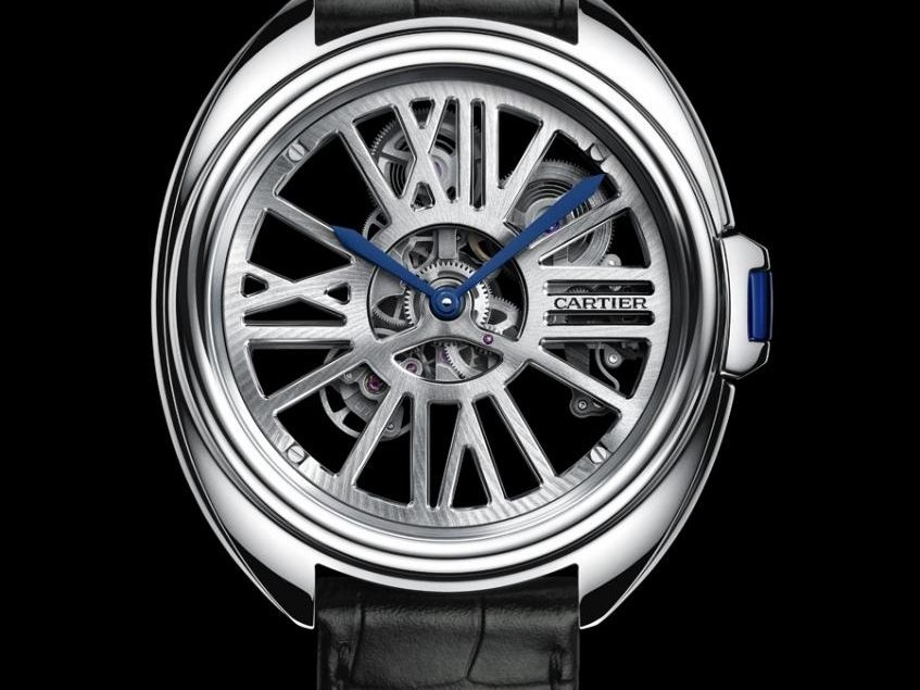 Cartier: Clé de Cartier Automatic Skeleton