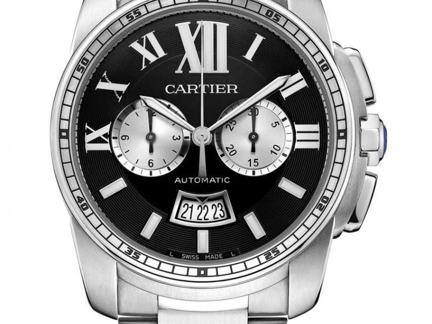 Cartier: Calibre de Cartier Uhren Modelle Replik  Chronograph