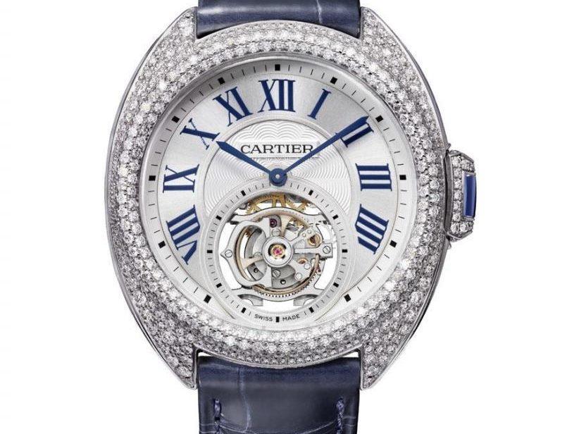 Cartier: Clé de Cartier Uhren Alte Modelle Replik  Flying Tourbillon