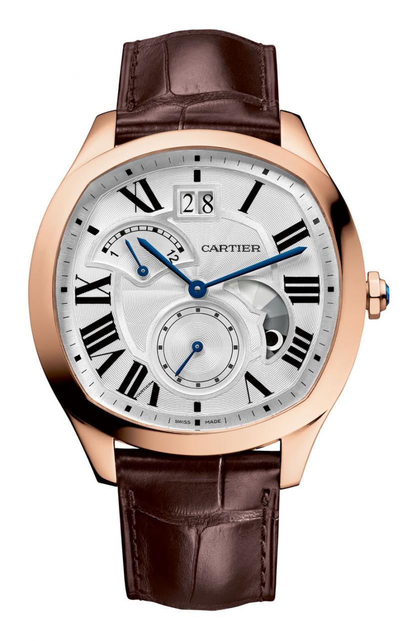 Cartier: Drive de Cartier Uhren Wasserdicht Replik  in Roségold