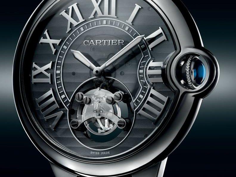 Die von Cartier bereits vorgestellte Konzeptuhr ID One
