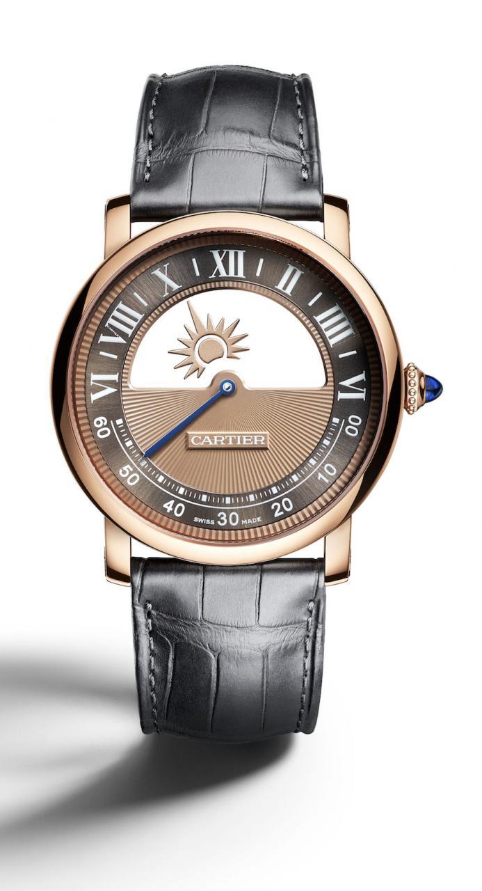 Die Rotonde de Cartier Mysterious Day and Night wird auf der kommenden SIHH 2018 präsentiert.