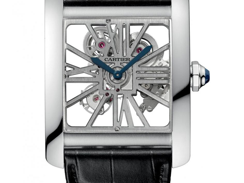 Cartier: Tank MC Skelettiert