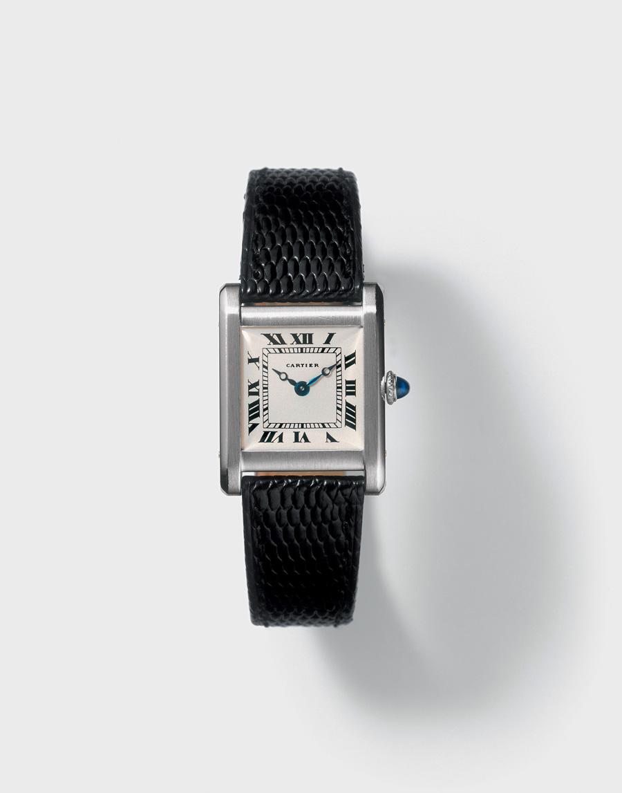 Die Original Cartier Uhr Damen Leder Replik  Tank von 1920