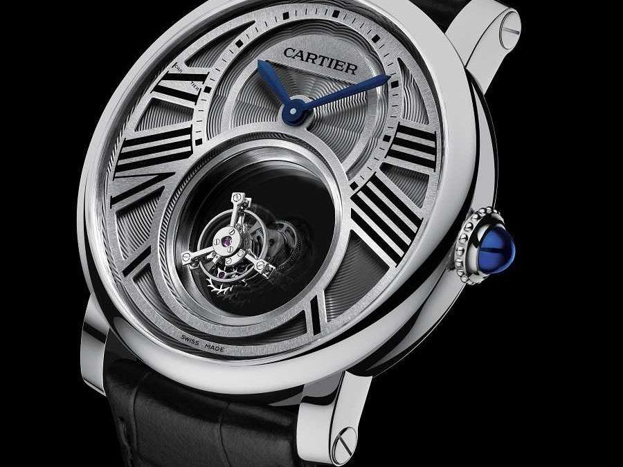 Das Rotonde de Cartier Double Mystery Tourbillon