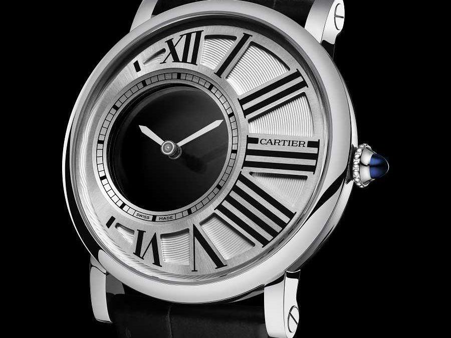 Mysteriöse Zweizeigeruhr: die Rotonde de Cartier Uhren Panthere Replik  Mystery
