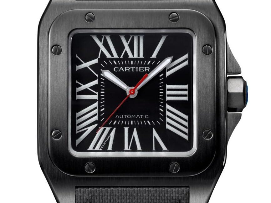 Cartier: Santos 100 Carbon