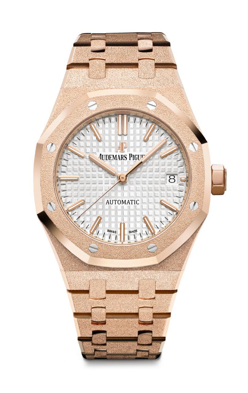 Die Audemars Piguet Ähnliche Uhren Replik Royal Oak Frosted Gold erscheint zum 40. Geburtstag der Damen-Royal-Oak