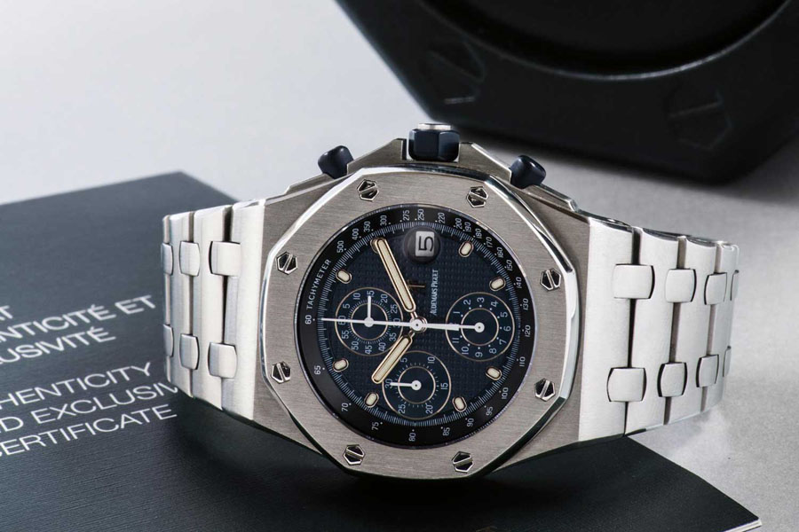 Audemars Piguet: Royal Oak Offshore von 1993, Foto: Phillips.com