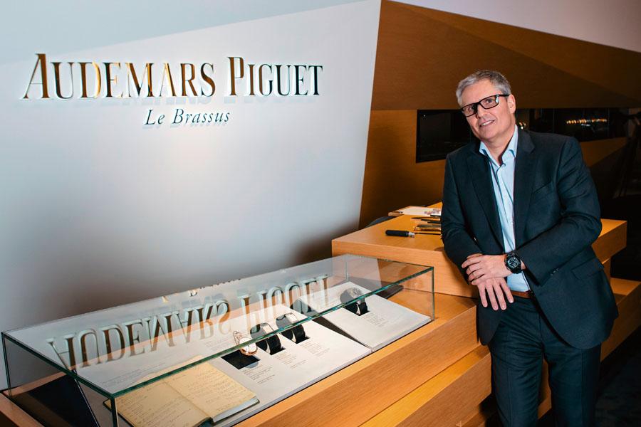 Claude Emmenegger, Designchef von Audemars Piguet
