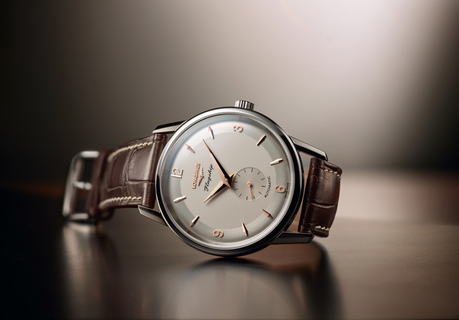 Longines: Flagship Heritage 60th Anniversary 1957-2017 in Edelstahl