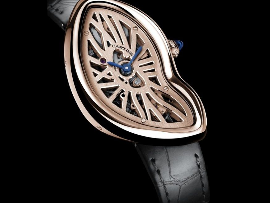 Cartier: Crash Skeleton in Rotgold
