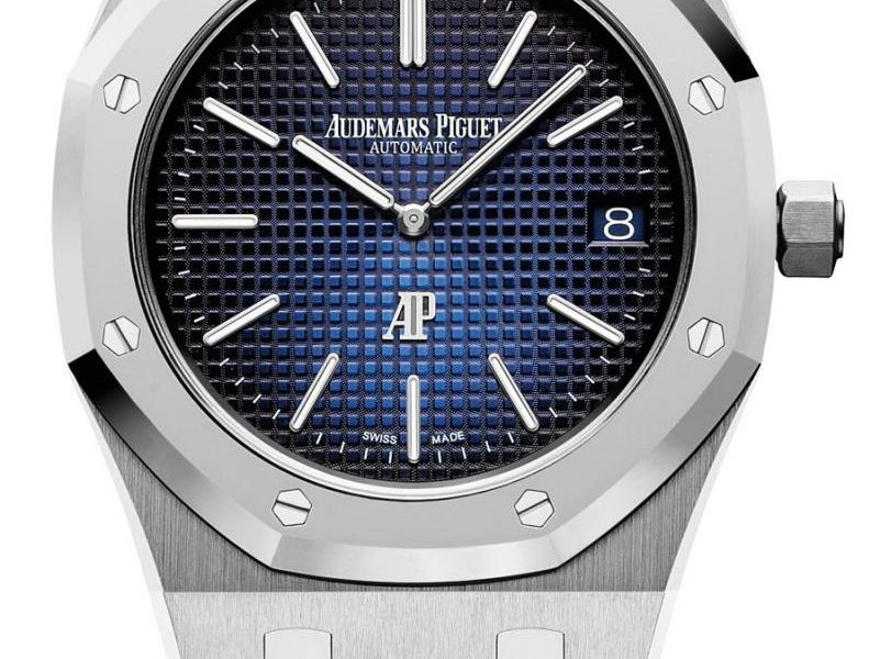 Audemars Piguet: Royal Oak-Jumbo Extra-thin Referenz 5202I.POO.1240IP.01